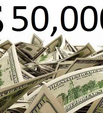 Cash Sweepstakes 2020: Win $50000 For Free